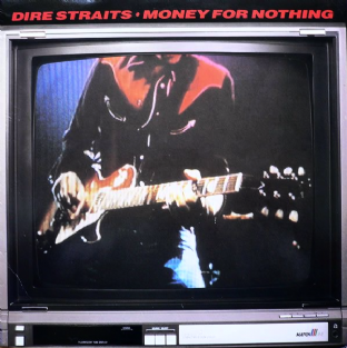 "Dire Straits - Money For Nothing (10"") (VG-/VG)"